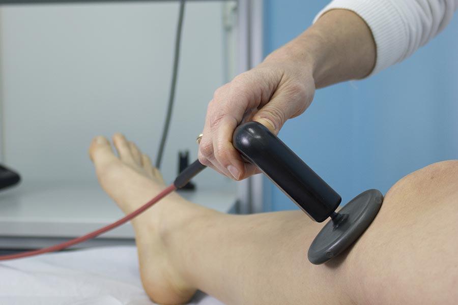 Applicazione Tecarterapia 2