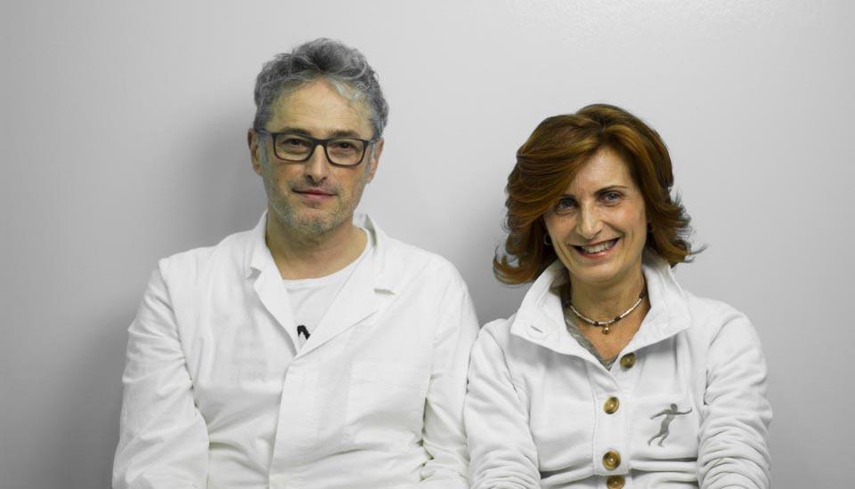 Nazzareno Braga e Chiara Pavani - Fisioterapisti Copparo